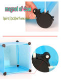 2016 DIY zusammenklappbares Kind-Spielzeug-Plastikablagekasten für Wohnzimmer