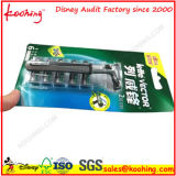 OEM Blister Paper Card Packaging Box / Blister Cards Packaging