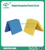 Gymnastik-Matten-faltbare weiche gymnastische Fußboden-Übungs-Oberflächen-flache Matte