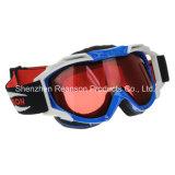 Reanson Qualitäts-breite Ansicht-Doppelt-Objektiv-Ski fahrende Schutzbrillen