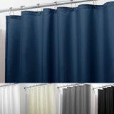 Tenda di acquazzone impermeabile della stanza da bagno del poliestere della Anti-Muffa del tessuto di seta naturale (02S0001)