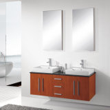 浴室のための木製の家具