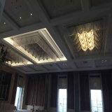 Het Vierkante Kristal van de manier en het plafondLamp van de Stof met Hotel