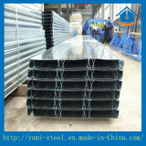 Galvanisierter und gewölbter Stahl-geschlossener Typ Fußbodendecking-Blatt
