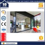 Spätester Entwurfs-Aluminiumrahmen-preiswerter Mall-Innenschiebetür