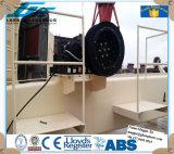 Gru senza fili elettrica della piattaforma della nave della gru a benna