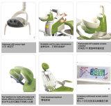 Unità dentale variopinta di alta qualità di Gladent con la lampadina del sensore del LED