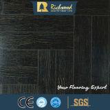 Pavimento laminato impermeabile della noce dello specchio E1 dell'annuncio pubblicitario 12.3mm