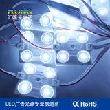 DC12V는 렌즈 3years 보장을%s 가진 5730의 주입 LED 모듈을 방수 처리한다
