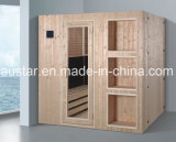 Sauna de infravermelhos de madeira Spruce de 1800 mm para 4 pessoas (AT-8639)