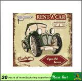 車の修理工場の印は、熱い販売の錫の印によって浮彫りにされる錫C32に署名する