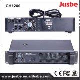 Amplificador de potencia CH1200 FAVORABLE amplificador del sistema de sonido de la potencia de 5000 vatios