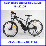 カーボンファイバーの電気バイクのマウンテンバイク