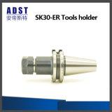 Suporte de ferramenta de venda quente do mandril de aro de Sk30-Er para a máquina do CNC