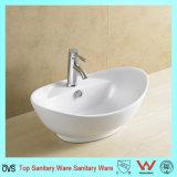 Populärer Entwurf Sanitaryware preiswerter Countertop-keramisches Bassin