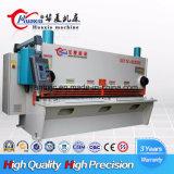 QC11k 6mm 4000mm 유압 단두대 깎는 기계 제조자