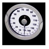 مقياس آليّة مشابهة مع مزولة قرص كبيرة