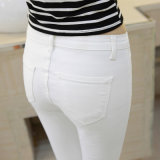 2017 neue Entwurfs-Frauen-reizvolle feste Demin zerrissene Jeans