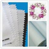 刺繍の裏付けファブリック100%年の綿