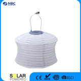 Indicatore luminoso solare impermeabile della lanterna alimentato Sun del tessuto di alta qualità con l'indicatore luminoso del LED