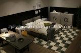 Amerikanische Art-Ausgangsbett-Leder-Bett-Möbel (A-B42)