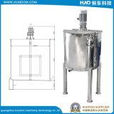 Réservoir de mélange de chauffage de jus revêtu d'acier inoxydable
