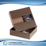 Tapa de cartón de embalaje inferior&Don/ Prendas de Vestir ropa// Caja de zapatos (XC-APC-005).