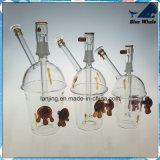 Tubo di vetro di qualità di Alibab, narghilé di fumo Shisha del tubo di acqua