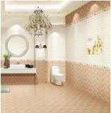 300X600mm 6D-Inkjet glasig-glänzende Badezimmer-keramische Wand-Innenfliese