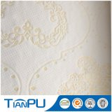 Tela que hace tictac 100% de las materias textiles del colchón casero del poliester
