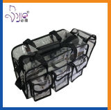 新しい流行旅行袋透過PVC袋の多機能袋