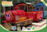 Trem elétrico Trackless da excursão dos miúdos novos do projeto para o passeio do miúdo