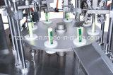 Tecla Semi-Auto máquina de enchimento e selagem do tubo para o tubo de metal da China
