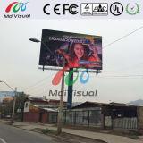 Signaux numériques à plein écran LED à l'extérieur pour la publicité