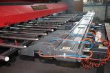 판금 v 흠을 파는 기계 v 잘린 기계