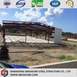Entrepôt préfabriqué de modèle léger de structure métallique au Nicaragua