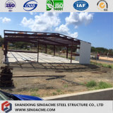 Heller Stahlkonstruktion-Entwurfs-vorfabriziertes Lager in Nicaragua