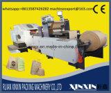 Documento di doppio strato con il sacco di carta automatico di controllo di tensionamento del doppio srotolamento che fa macchina