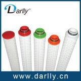 Cartucho de filtro de pliegues de 20 pulgadas a 0,2 micras