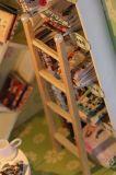 Música de madeira bricolage educacional Doll House Novos Produtos