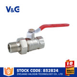 Шариковый клапан низкой цены поставщика фабрики 3/4 дюймов латунный (VG-A21051)