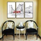 Kundenspezifischer Hauptdekoration-Drucken-Segeltuch-Ölgemälde-Kunst-Wohnzimmer-Dekor