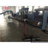 Plásticos usados de la eficacia alta que granulan la línea/los gránulos que hacen la máquina
