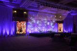 pH37.5mm/56.25mm/75mm weicher Bildschirm der Media-Fassade-LED des Ineinander greifen-LED