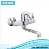 Les mesures sanitaires robinet mélangeur Robinet de cuisine à levier unique Mur 71004 Mouted JV