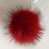 高品質15cmの実質のアライグマの毛皮POM Pomsか毛皮の球