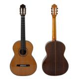 Alto grado hecho a mano toda la guitarra clásica española de la vendimia sólida