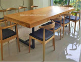 Banheira de vender um estilo de moda mesa de jantar em madeira maciça e cadeira (LL-WST001)