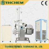 Vacío de alta calidad 10L fraccional de vidrio de unidades de destilación al vacío evaporador rotativo con baño de agua
