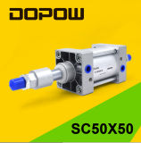 Dopow pneumatischer Standard-Zylinder des Zylinder-Sc50X50